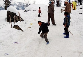 Skiing In Solang Valley