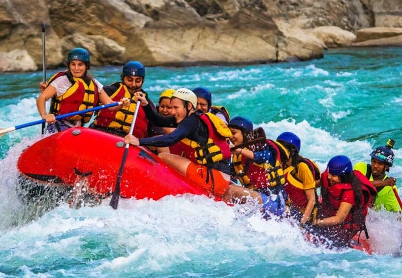 Show item 1 of 5. Rafting In Rishikesh