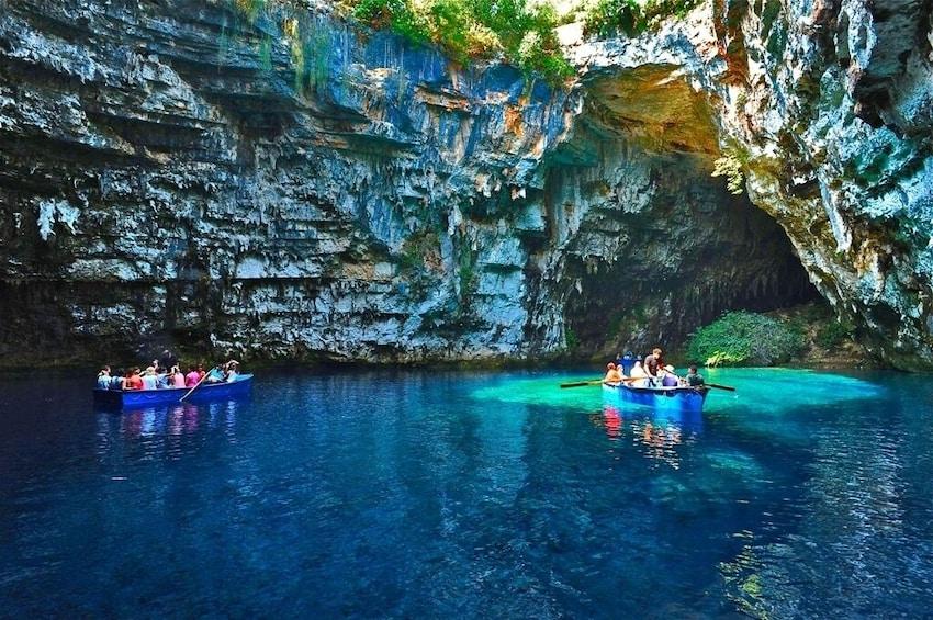 Show item 8 of 8. Full-Day Tour Kefalonia Island