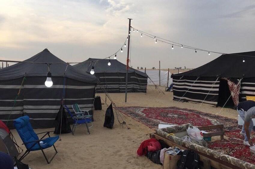Desert Camping in Dammam