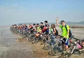 Beach Cycling In Alibaug
