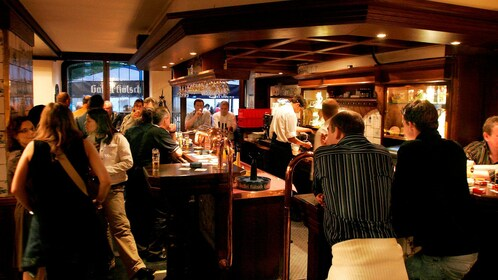 interior of bar in cologne