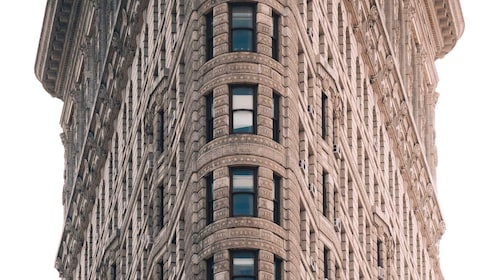 View of the Flatiron building in New York