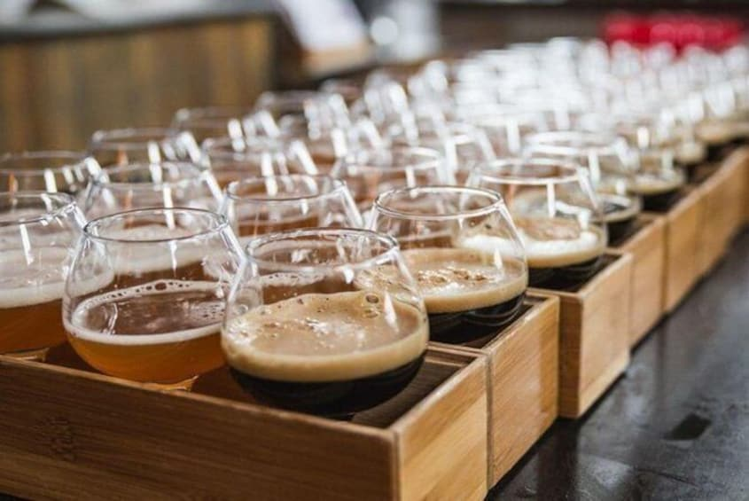 Show item 6 of 6. 3.5 Hours Discover Cleveland: Brewery Tastings Tour