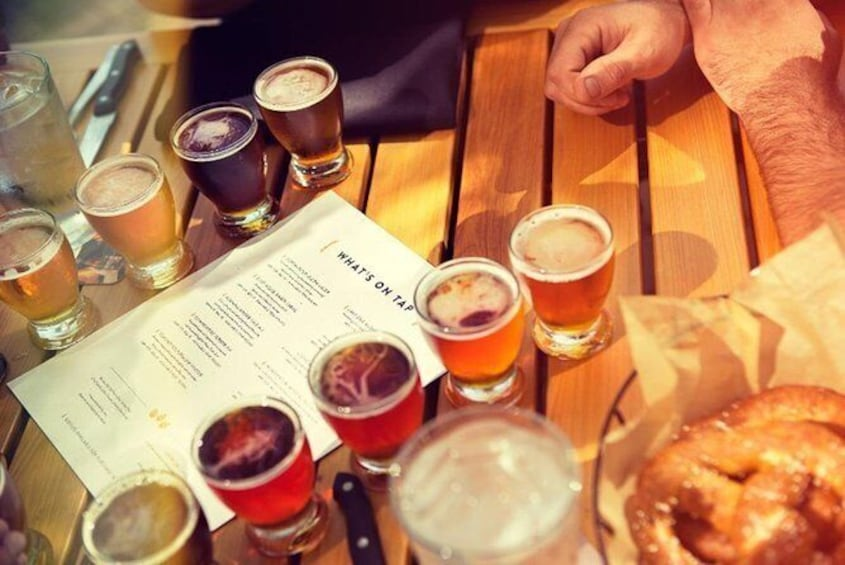 Show item 1 of 6. 3.5 Hours Discover Cleveland: Brewery Tastings Tour