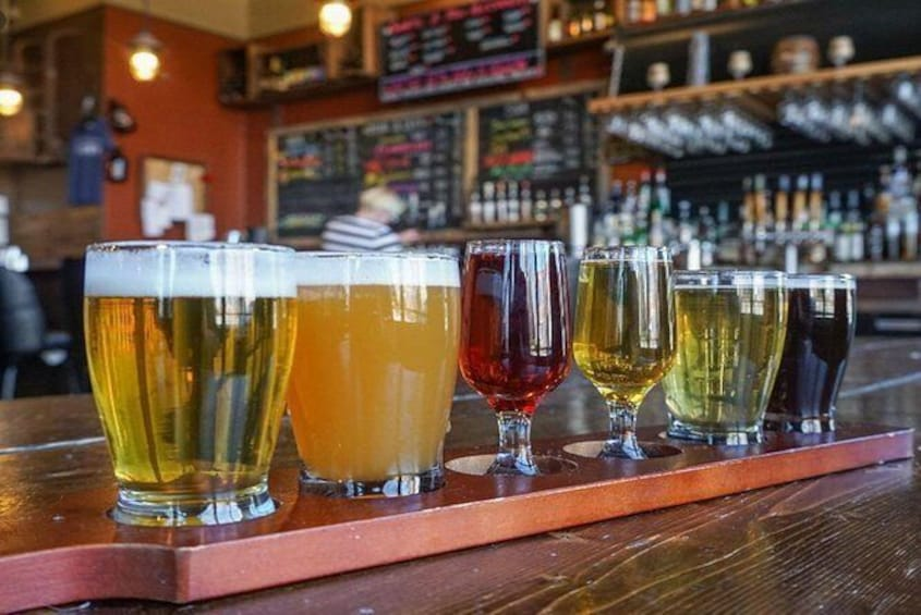 Show item 3 of 6. 3.5 Hours Discover Cleveland: Brewery Tastings Tour