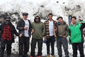 volcano tour snowboard & ski