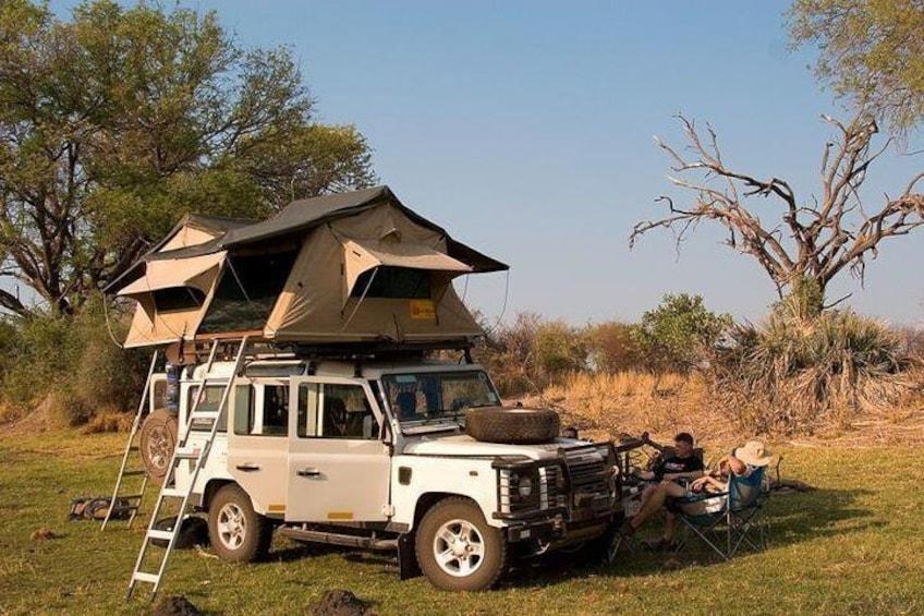 Shinninghaertskenya self drive 4x4 with roof top tent