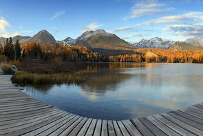 The Nicest Bike Paths in a High Tatras National Park