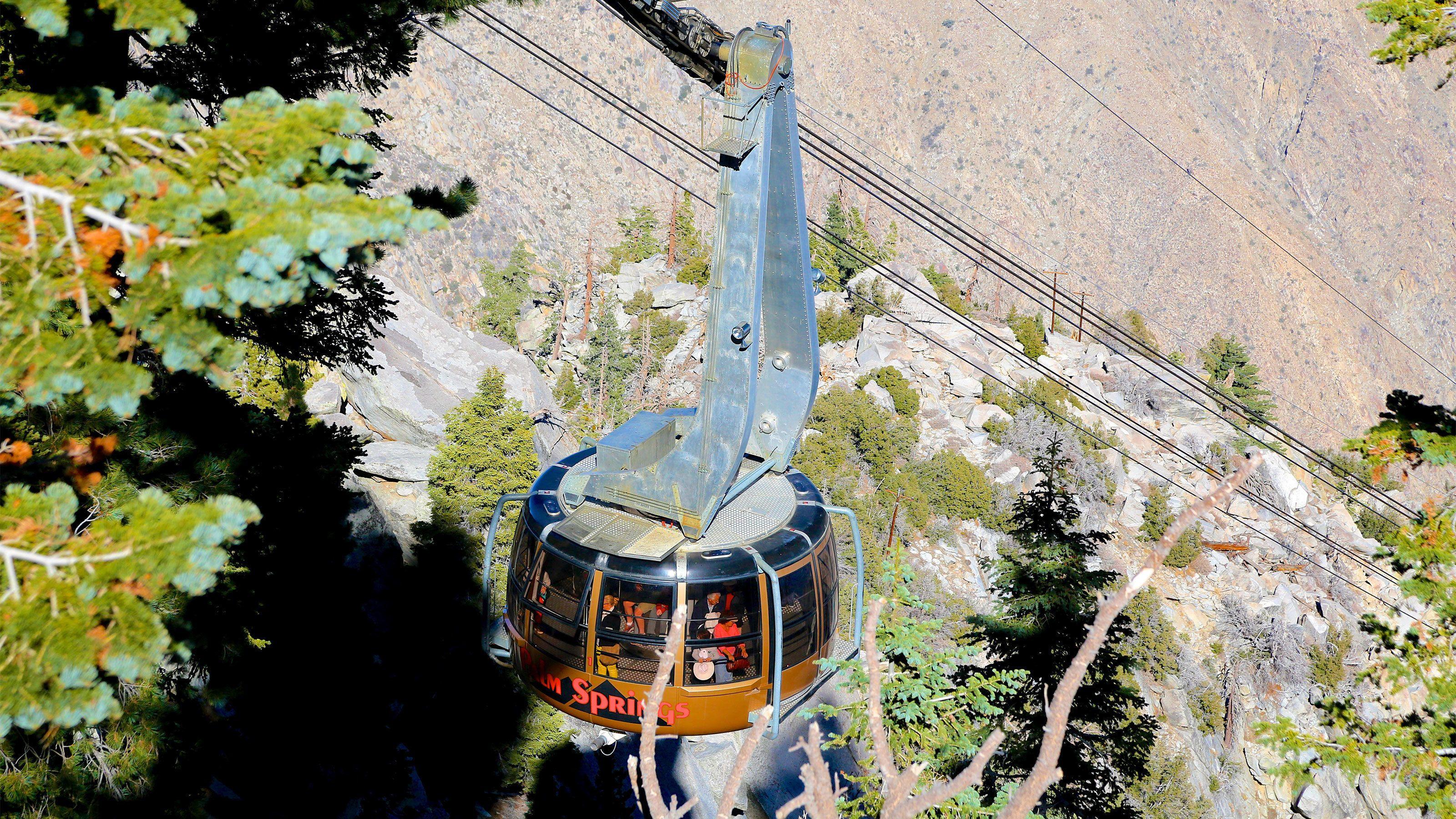 Aerial Tram in Palm Springs