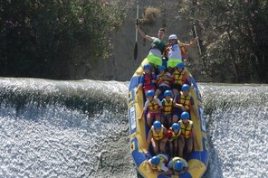 .Rafting by the safe river + Photos + Lunch from 9'00 to 13'00