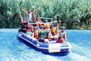 Rafting on Segura River + photos + paella from 13'00 to 17'00