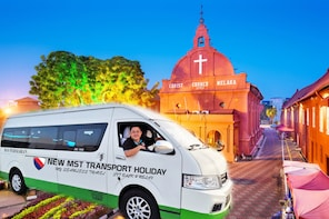 Flexible 17 Hrs Melaka Excitements Van Tour from Ipoh