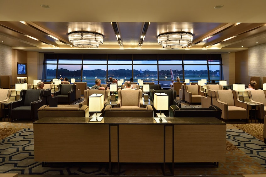 Show item 3 of 6. Plaza Premium Lounge at Singapore Changi Airport (SIN)