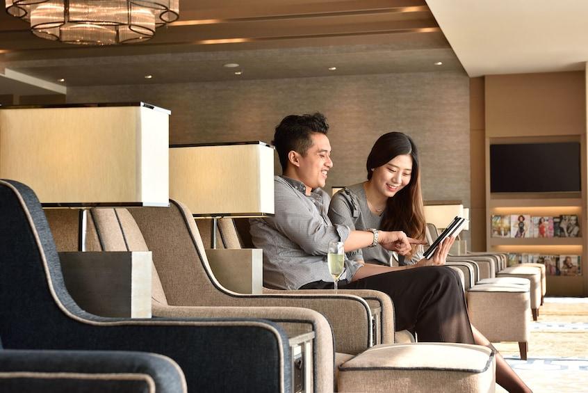 Plaza Premium Lounge at Singapore Changi Airport (SIN)