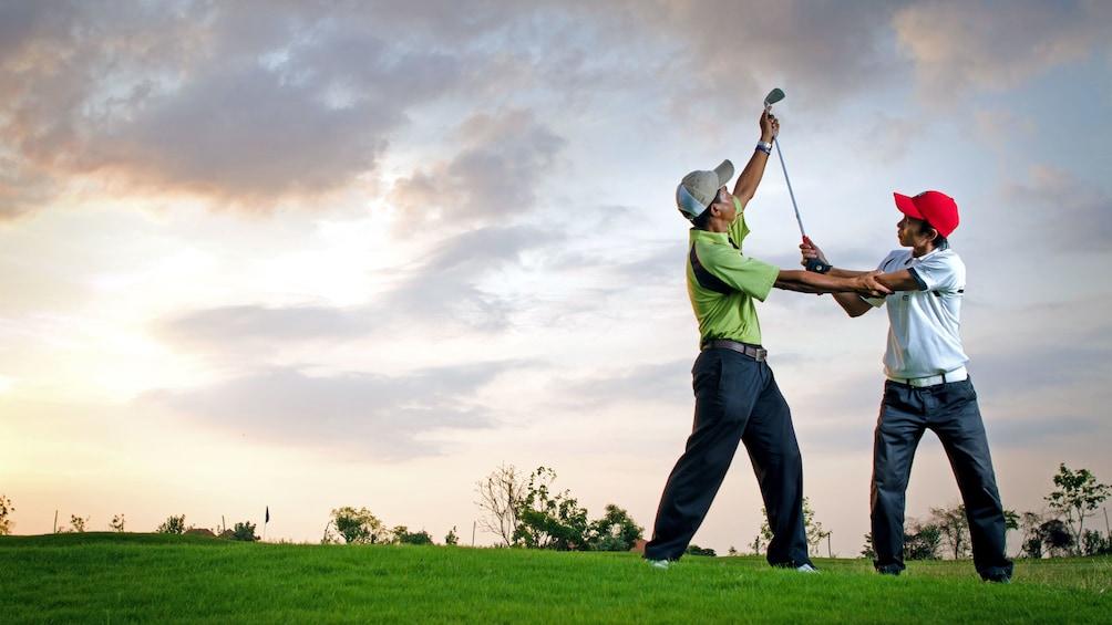 Tampilkan item 5 dari 7. Lessons with golf instructor in Bali