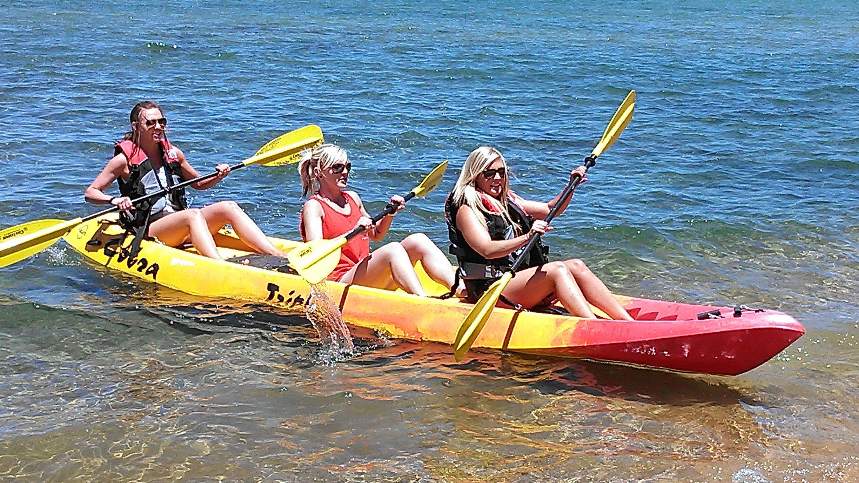 Kayak Rental on Lake Tahoe