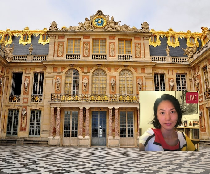 Show item 1 of 7. LIVE: Virtual Tour of Versailles with Expert Guide