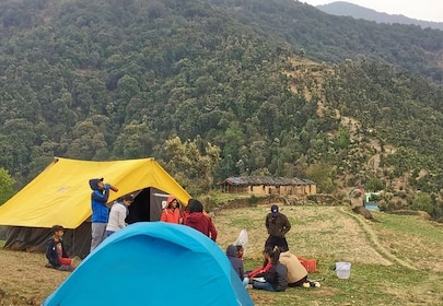 Nag Tibba Trek With Camping