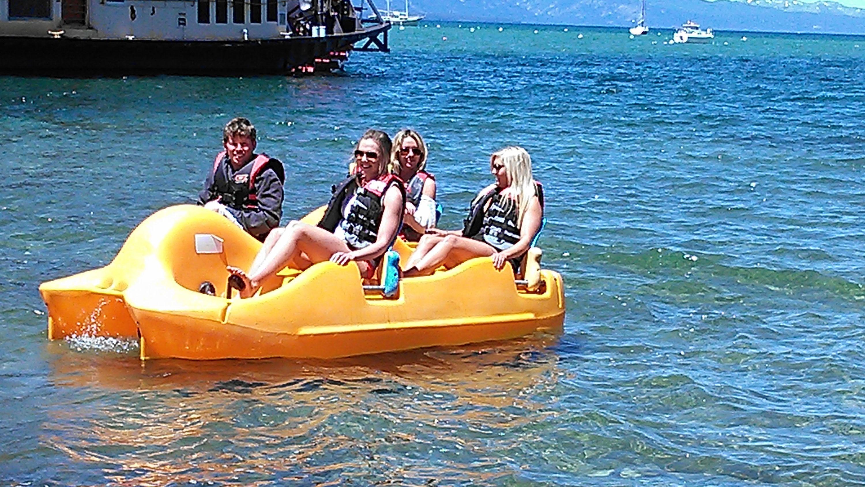 Lake Tahoe Paddle Boat Rental