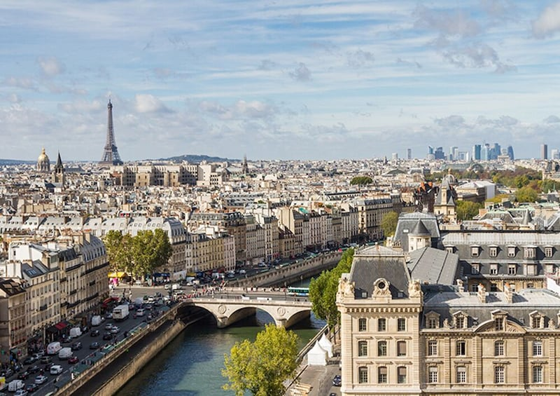 Show item 3 of 9. Virtual Eiffel Tower and Notre Dame Tour with Expert Guide