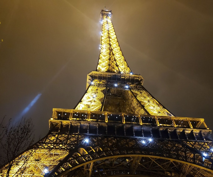 Show item 2 of 9. LIVE: Virtual Eiffel Tower&Notre Dame Tour with Expert Guide