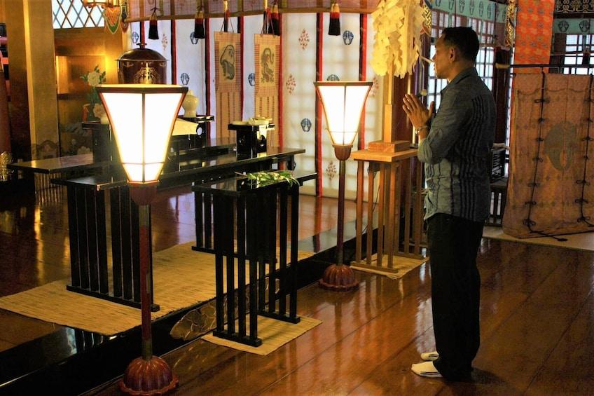 Show item 3 of 6. Pray at Yutoku Inariwith Original Goshuin Book