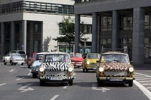 Dresden Compact Trabi Self-Drive Tour 1h15min