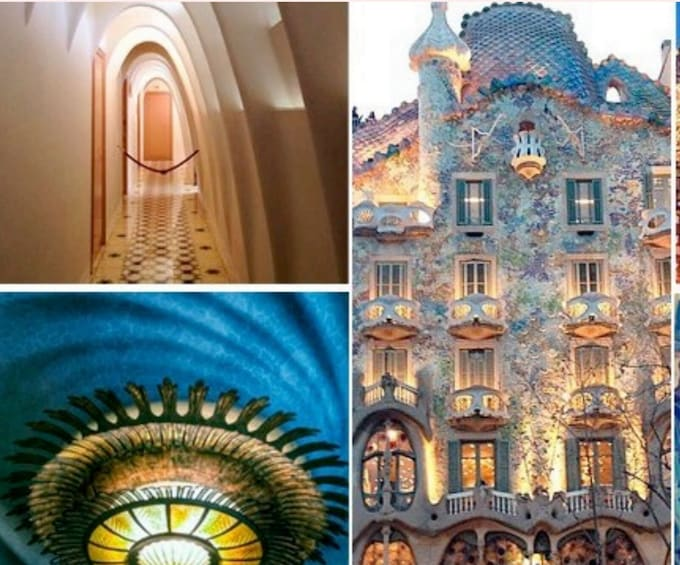 Show item 3 of 9. LIVE: Gaudi's Barcelona Virtual Tour with Expert Guide