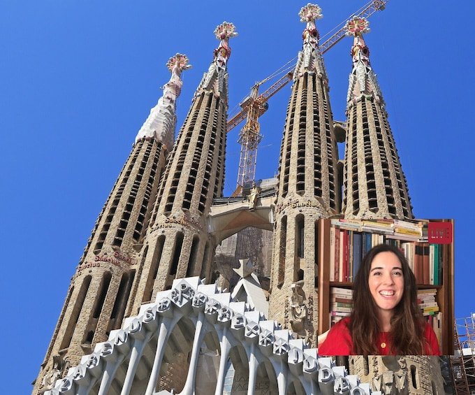 Show item 1 of 9. LIVE: Gaudi's Barcelona Virtual Tour with Expert Guide