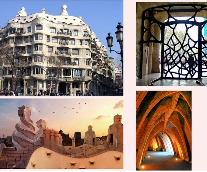Show item 9 of 9. LIVE: Gaudi's Barcelona Virtual Tour with Expert Guide