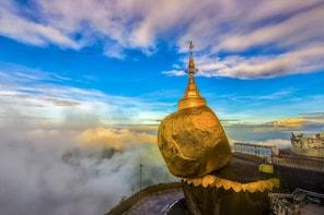 5 Days Yangon, Golden Rock Pagoda & Bago