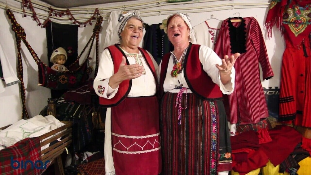 Show item 5 of 8. Bansko: Bulgarian Traditional Folklore Evening with Deshka