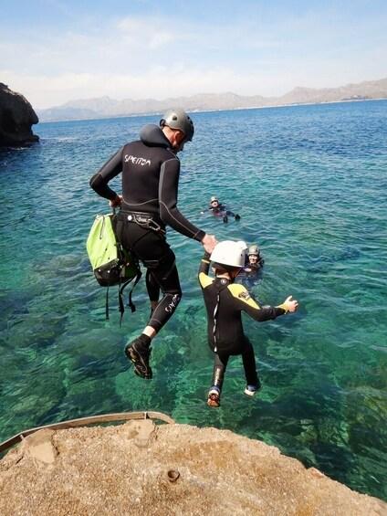 Show item 4 of 10. Try adventure, try coasteering - North coast