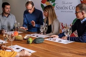 Private Sitges, Wine & Chocolate Tour + Lunch from Barcelona