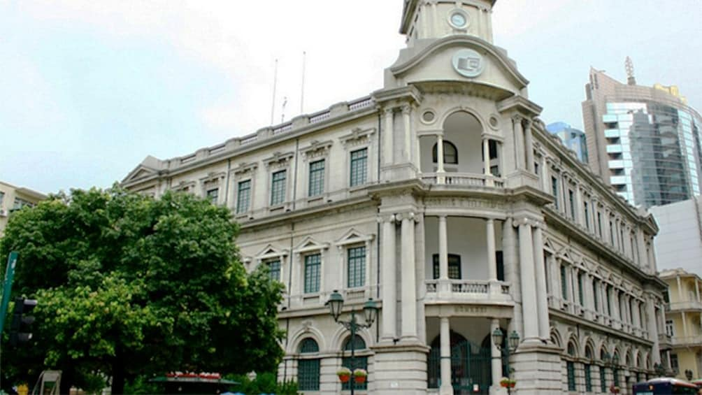 City building in Macau