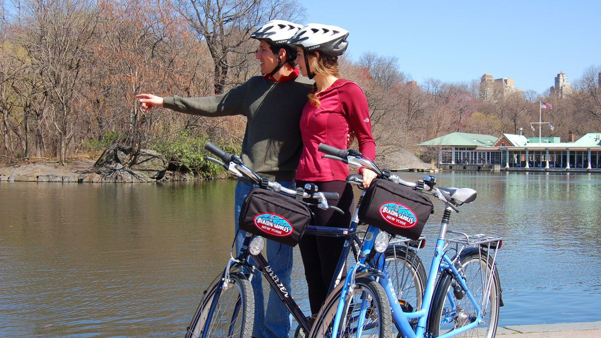 Central Park Guided Tour & All-Day Bike Hire