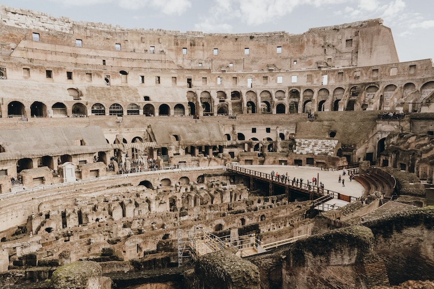 Show item 2 of 10. Online Tours from Home Colosseum & Gladiators