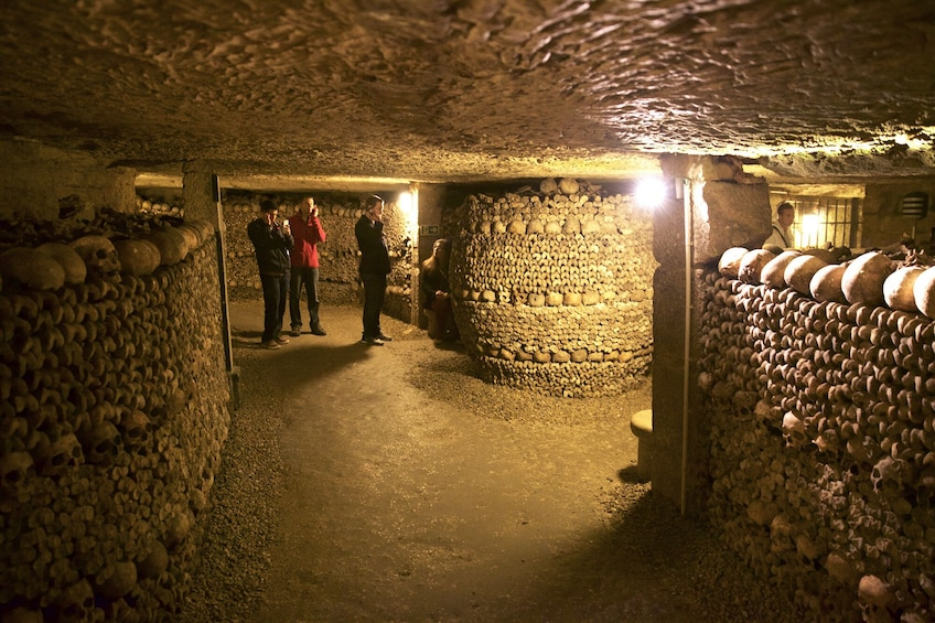 Show item 2 of 9. Tours from Home: Discover the Darkness - Catacombs of Paris