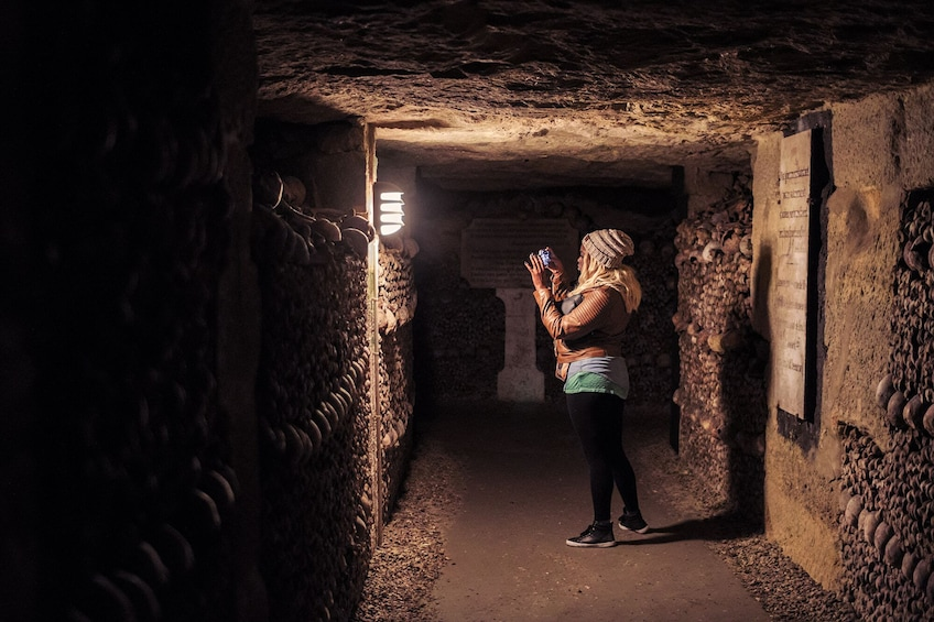 Show item 1 of 9. Tours from Home: Discover the Darkness - Catacombs of Paris