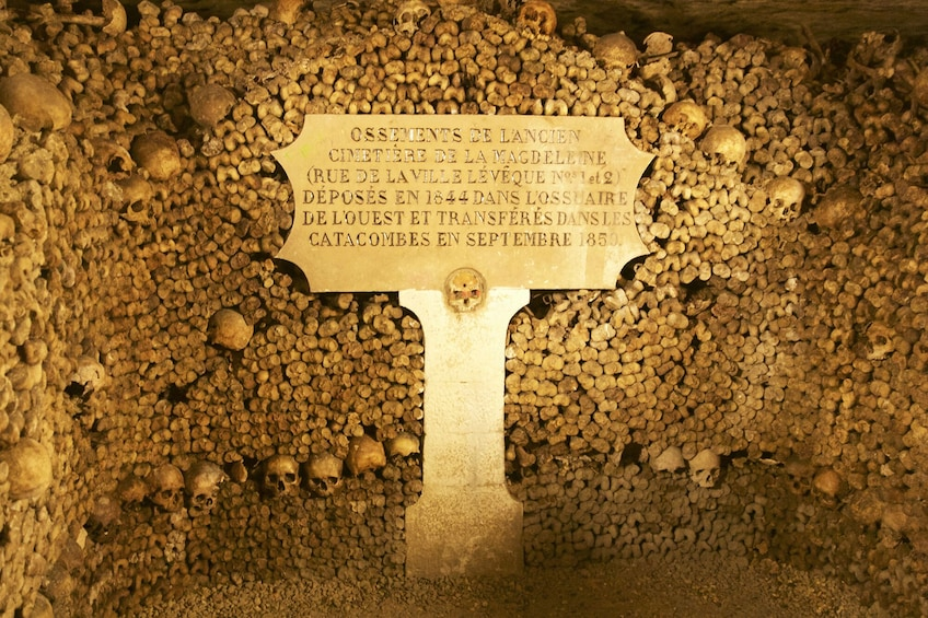 Show item 3 of 9. Tours from Home: Discover the Darkness - Catacombs of Paris