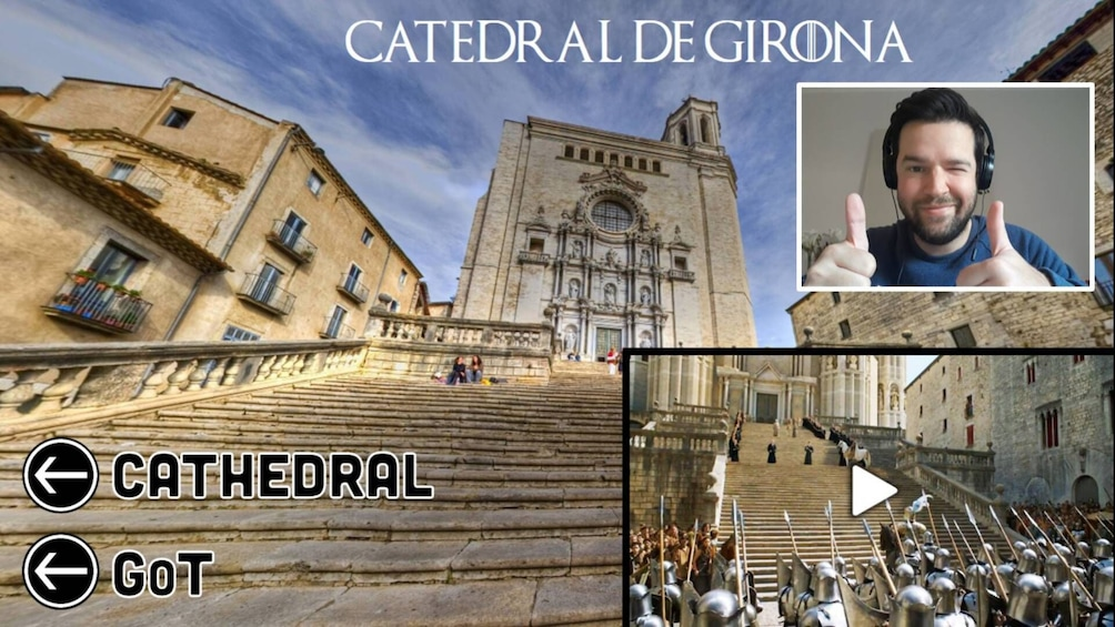 Show item 1 of 6. Medieval Girona and Game of Thrones Interactive Virtual Tour