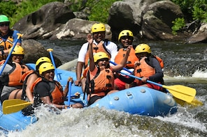 Full-day Whitewater Rafting for Families and Friends