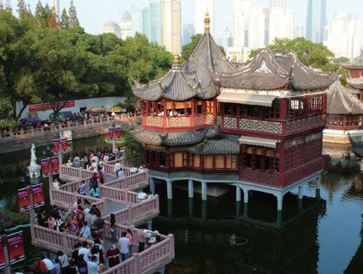Show item 5 of 10. Best of Shanghai Full Day Coach Tour