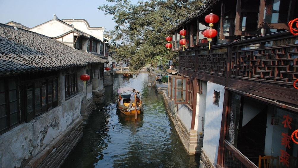 Suzhou & Zhouzhuang Water Village Full Day Coach Tour
