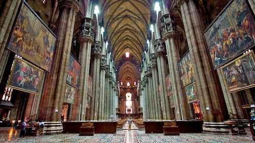 the great halls of Duomo di Milano in Florence