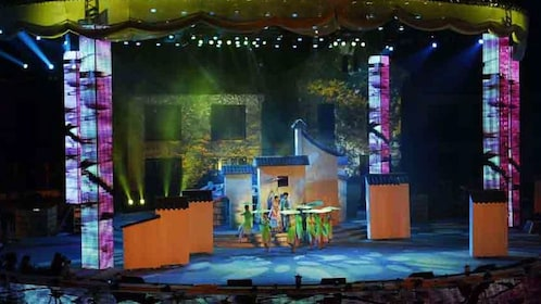 performers on stage in Shanghai