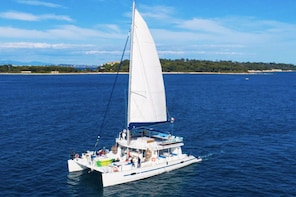 Full Day Catamaran Excursion to Pampelonne and three Capes!