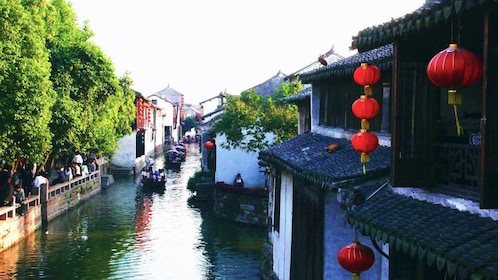 Day view of Zhouzhuang Water Village
