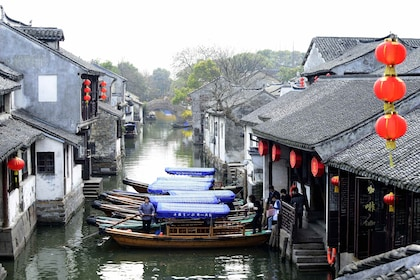 Half-Day Zhouzhuang Water Village Coach Tour
